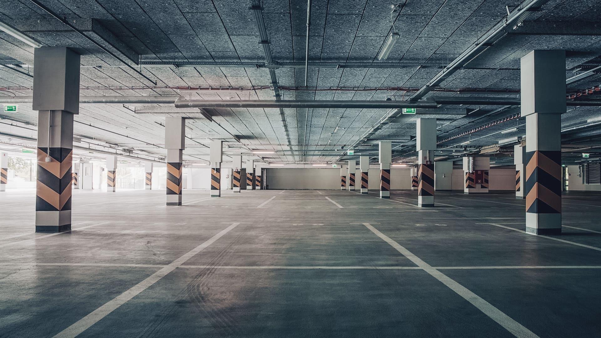 Gidroizolyaciya parkinga 4 - Гидроизоляция паркинга