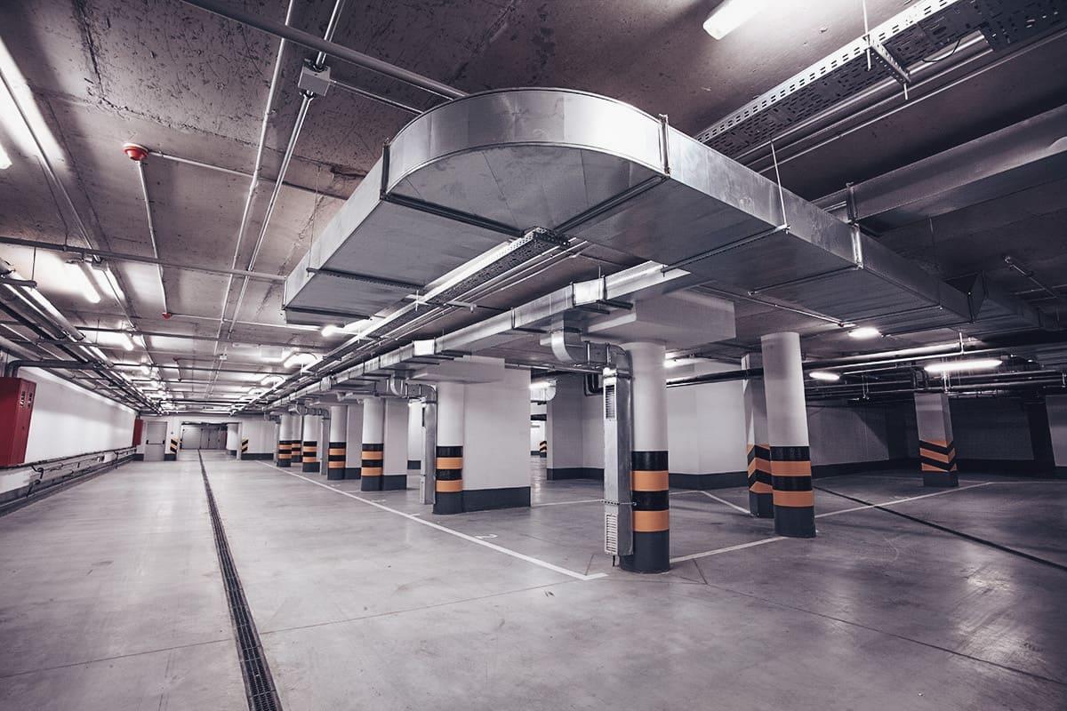 Gidroizolyaciya parkinga 5 - Гидроизоляция паркинга