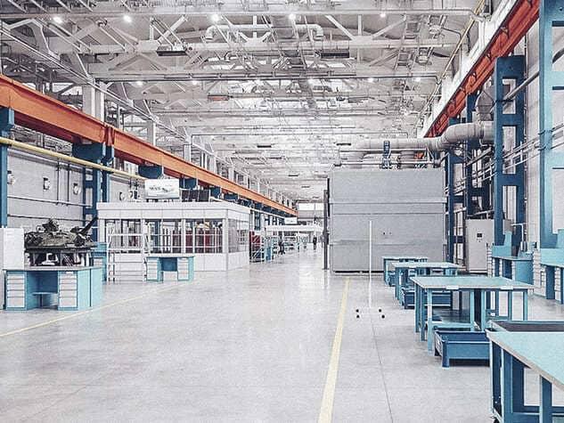 промышленные полы для цеха (1)