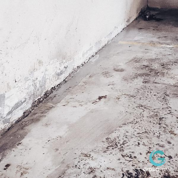 Gidroizolyaciya primykanij stena pol v podzemnom parkinge 10
