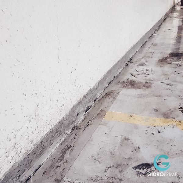 Gidroizolyaciya primykanij stena pol v podzemnom parkinge 3