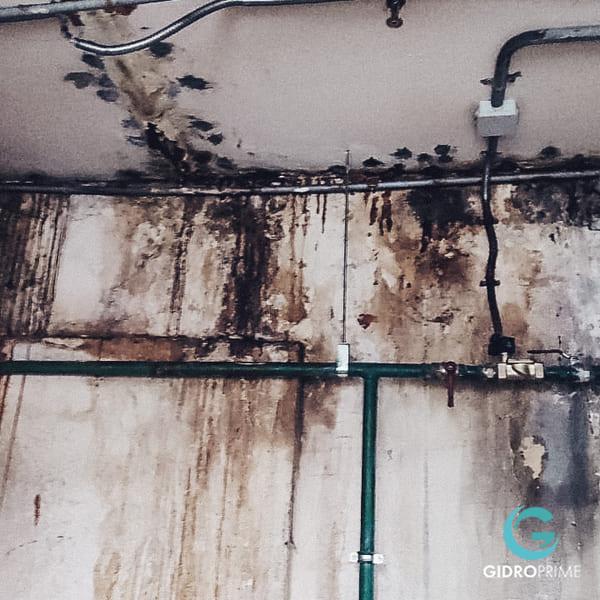 Gidroizolyaciya primykanij stena pol v podzemnom parkinge 8