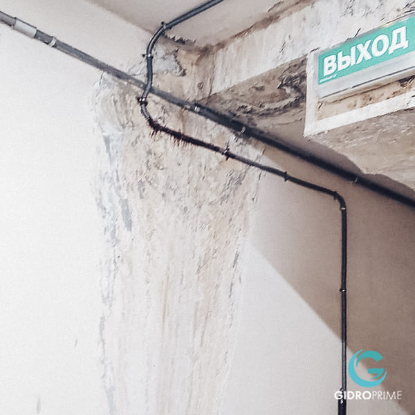 Gidroizolyaciya primykanij stena pol v podzemnom parkinge 9
